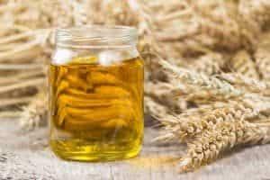 Weizenkeimöl für die Haut